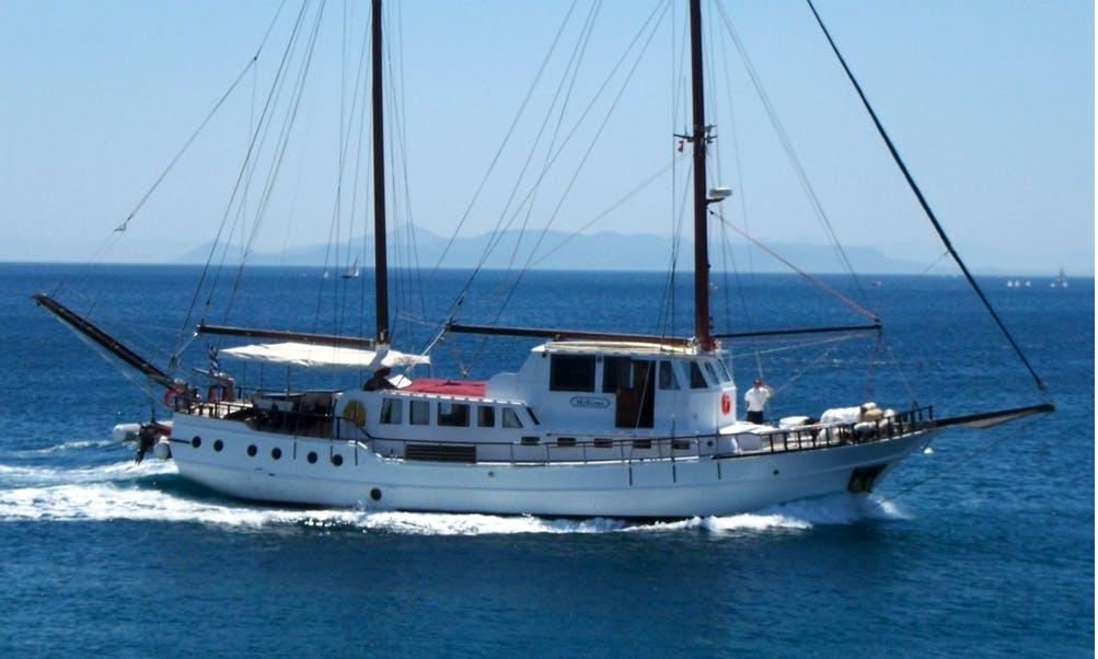 MELTEMI 85' Gulet Charter in Pireas