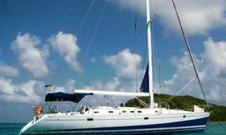Sail the Grenadines on Cruising Monohull Polair Star