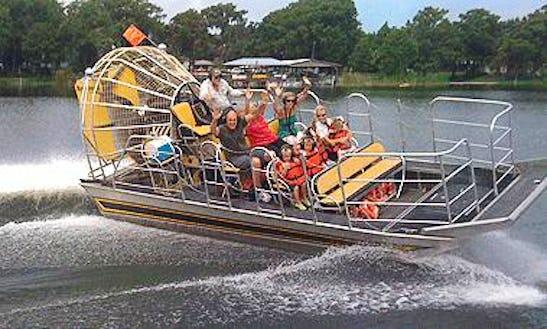 Airboat Ride In Lake Panasoffkee, Fl