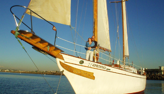 Amethyst Sailing Charter In Marina Del Rey