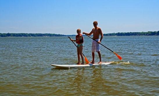 Tandem Stand Up Paddleboard Rental In Boulder