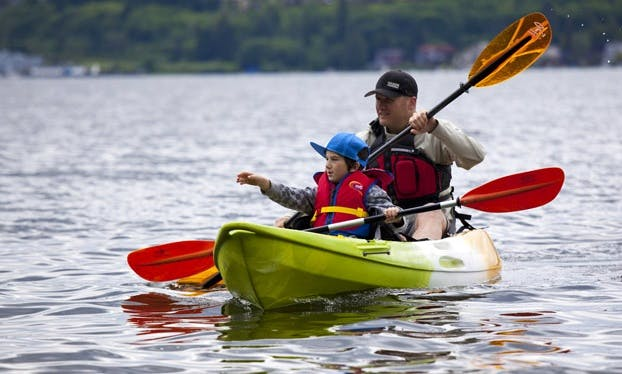 Hire Sit on Top Kayaks at Salhouse Broad