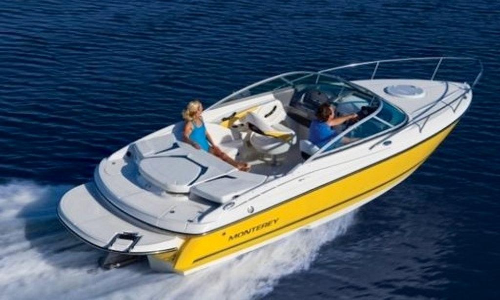 22 Monterey Ski Boat Rental On Lake Conroe In Montgomery Texas