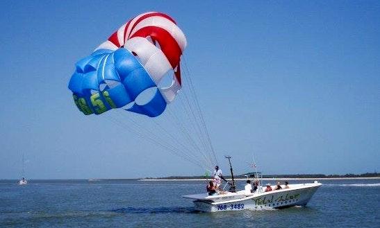 Exciting Parasailing In Charleston, South Carolina
