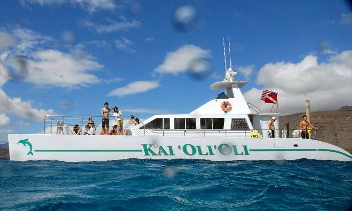 "Enjoy 61 ft ""Kai 'Oli'Oli"" Captained Cruises in Kapolei, Hawaii"