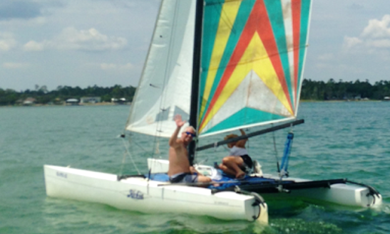 Enjoy Hobie Cat Sailing In Pensacola Beach, Florida