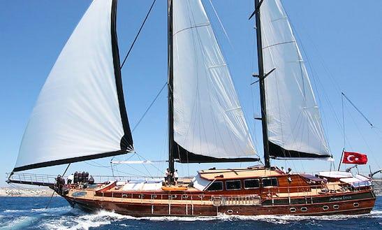 Charter Sailing Gulet Princess Karia 4 In Turkey