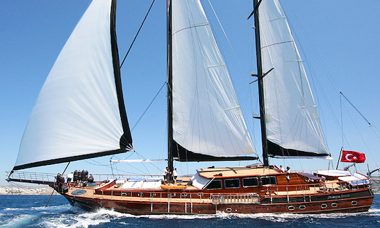 Charter Sailing Gulet Princess Karia 4 In Turkey