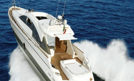 Charter Aicon 72 Open In Mediterranean