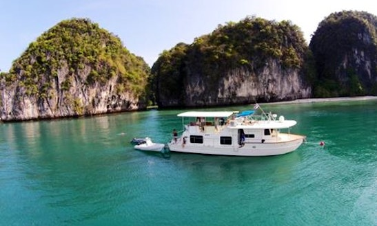 Charter The 52'coastal Cruiser In Phuket, Thailand