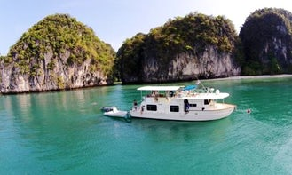 Charter the 52'Coastal Cruiser in Phuket, Thailand
