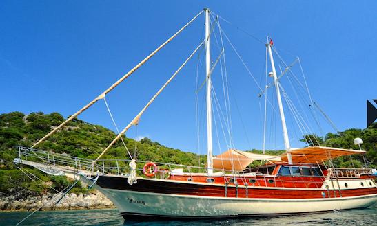 Yacht Hasay Gulet Daysailer Rental In Marmaris