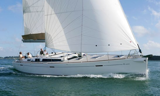 Charter Dufour 525 Sailing Yacht In Catania