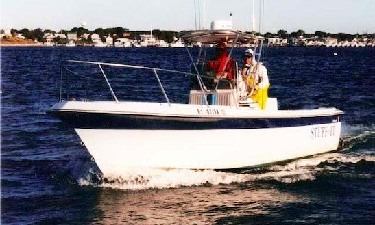 Center Console Boat Charter In Narragansett, Rhode Island
