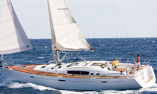 Oceanis 54 Cater 8 People For Charter In Sicily