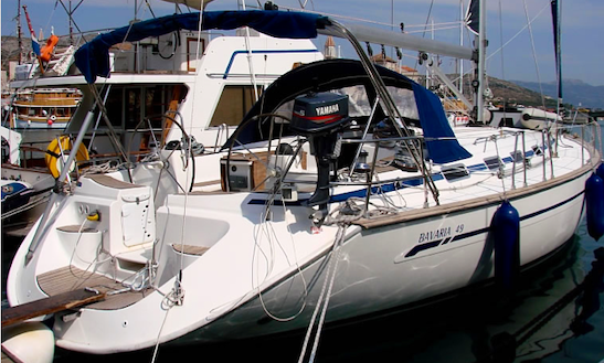 Charter Bavaria 49 With 5 Cabins In Sicily