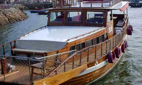 Charter 58ft Teak Chinese Junk In Hong Kong