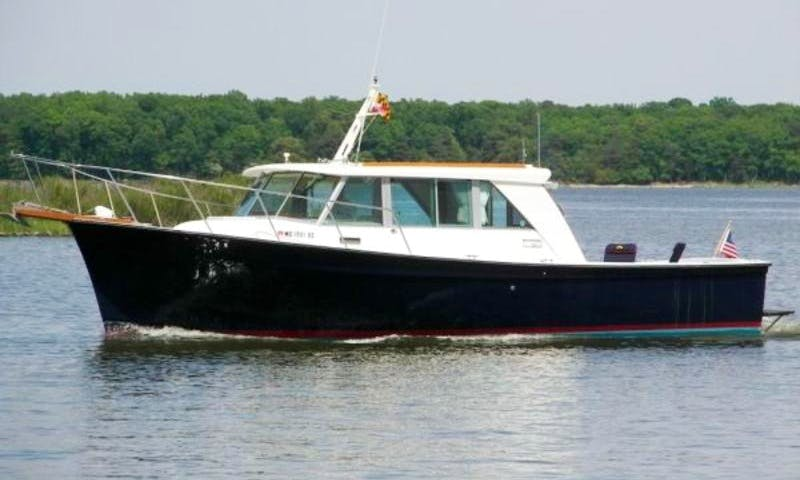 "Fishing Charter On 35ft ""Aces Wild"" Trawler In Narragansett, Rhode Island"