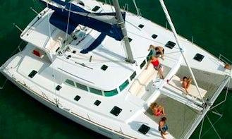 "Charter a 45ft ""Talia"" Cruising Catamaran in Sicilia, Italy"