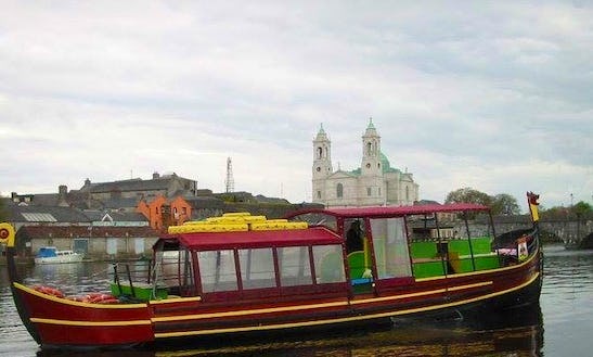 River Cruise On Viking Ship Athlone In Ireland