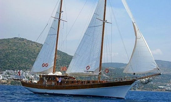 Crewed Gulet Charter In Turkey