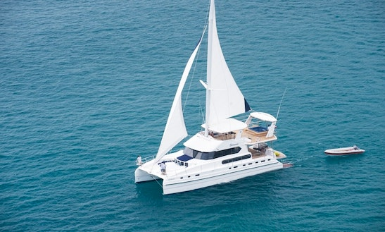 70' Luxury Sailing Catamaran Charter In Phuket