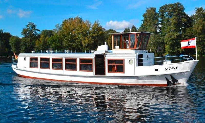 """Charter 61ft """"Mowe"""" Canal Boat In Berlin, Germany"""
