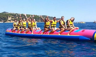 Ride this Banana Boat in Spain