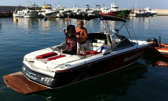 Mastercraft Bowrider Rental In Blanes, Spain