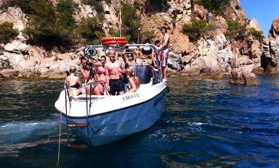 25' Bowrider Rental In Blanes, Spain