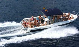 Party Boat In Blanes, Spain