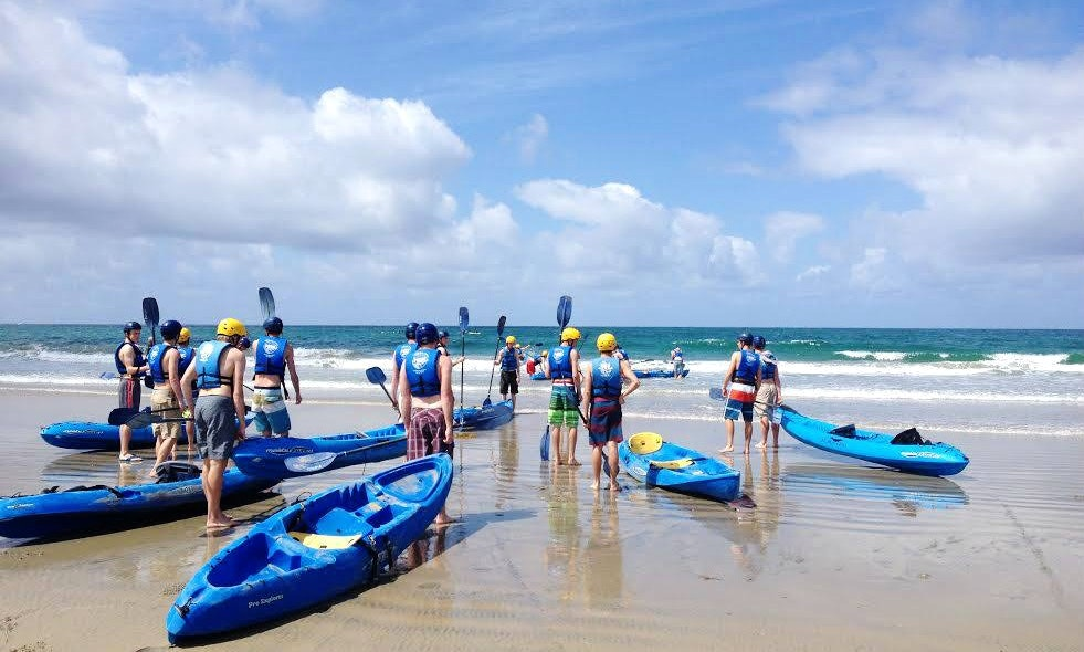 Single Kayak Rental In La Jolla California With Friends
