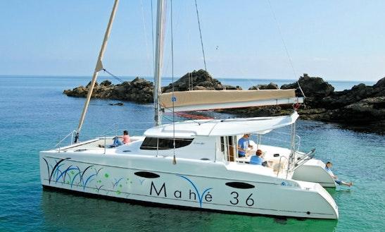 36' Fountain-pajot Mahe Catamaran Charter In Bar, Montenegro