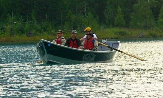 20' Jon Boat Rental In Seward, Alaska
