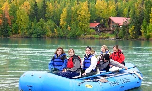 Guided Rafting Trips on the Kenai River in Alaska