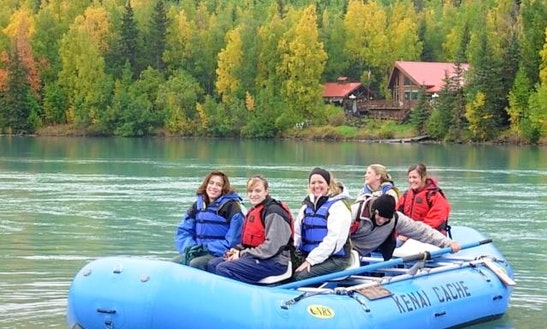 Guided Rafting Trips On The Kenai River