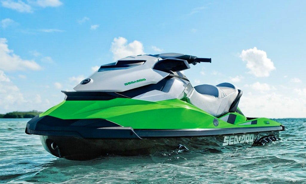 hire a 2014 seadoo jet ski for 3 person in ibiza spain getmybo. Black Bedroom Furniture Sets. Home Design Ideas