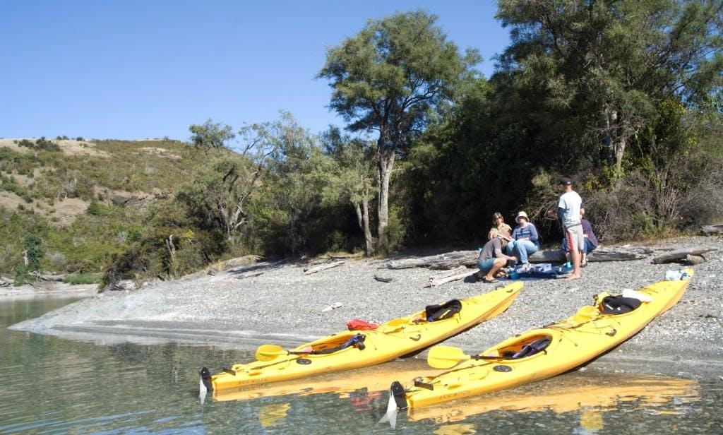 Guided Kayak Tours on Lake Wakatipu, New Zealand