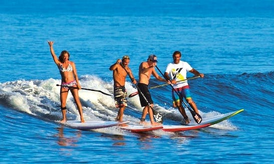 Exciting Sup Lesson In San Diego, California