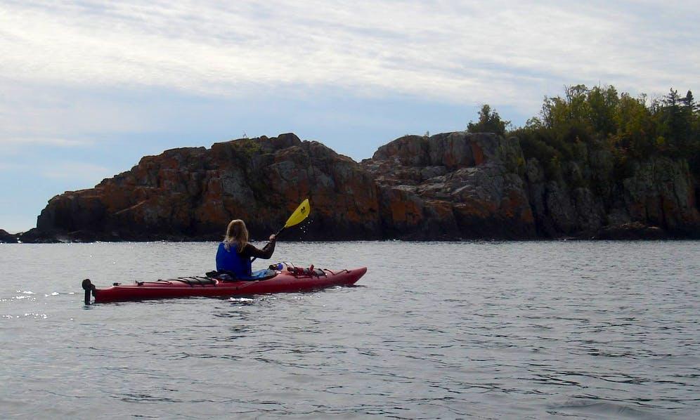 Boreal Design Inukshuk Kayak Rental in Copper Harbor, Michigan