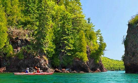 Venture Easky 13 Kayak Rental In Copper Harbor, Michigan