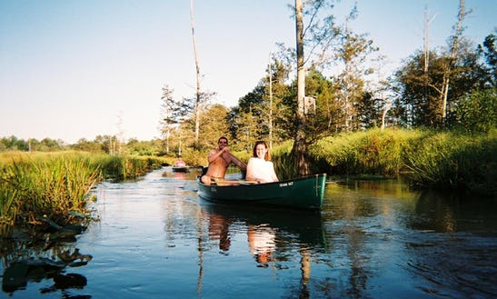 Ghost River Canoe Rental In Moscow, Tn