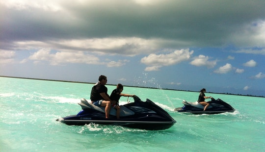 Jet Ski Adreneline Adventure In Leeward, Turks And Caicos Islands