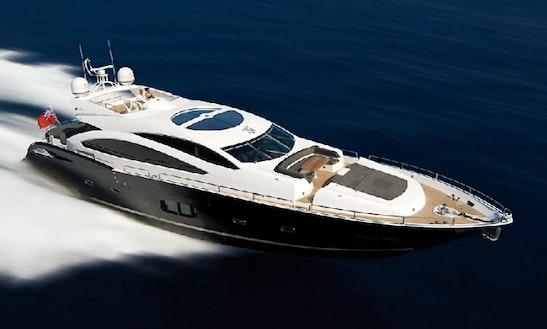 Charter 92' Sunseeker Predator Motor Yacht  In Ibiza