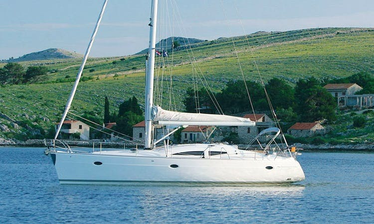 Charter this ELAN 434 Impression Sailboat in Marbella, Spain