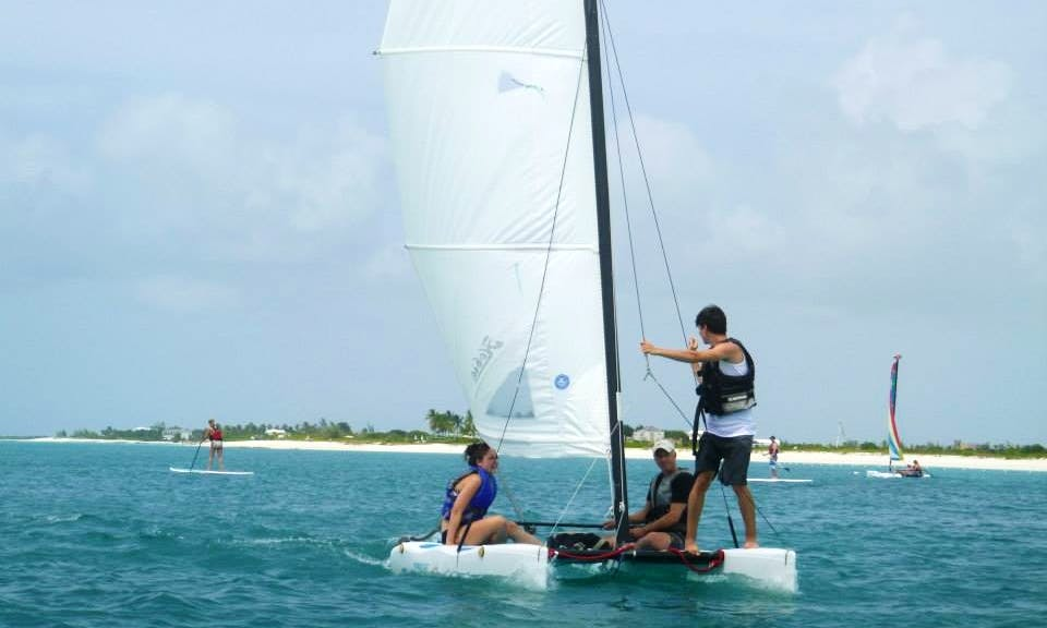 Sailing Lessons in the Turks and Caicos Islands
