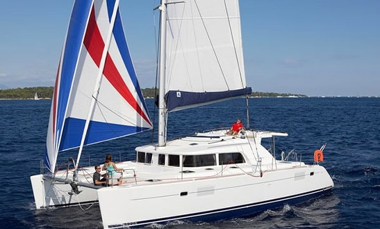 44' Catamaran Talia For Charter In Palermo