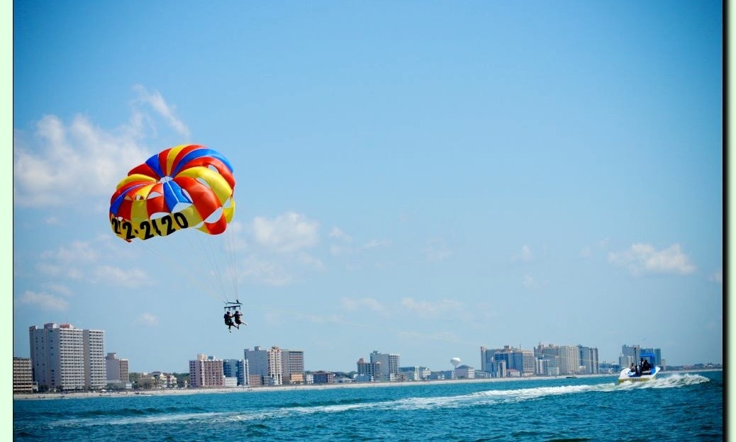 Parasailing In North Myrtle Beach Getmyboat