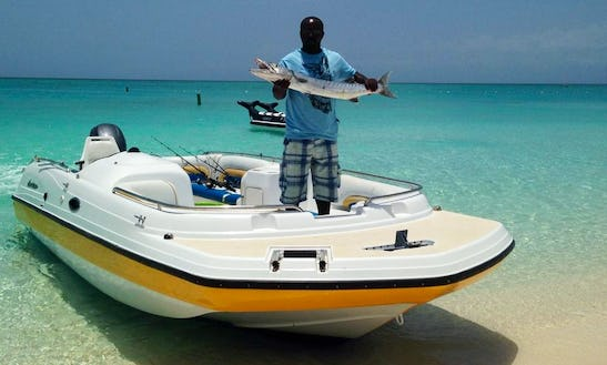 25ft Hurricane Series Deck Boat Fishing Charter In Caicos Islands, Turks And Caicos Islands
