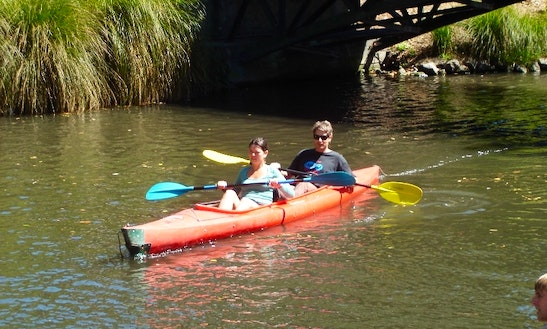 Hire A Double Kayak In Christchurch